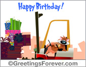 Chizu - Greeting ecards: Special Birthday eCard