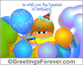 Greeting ecards: Best wishes!