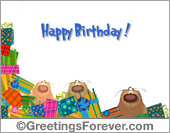 Greeting ecards: Happy Birthday Ecard