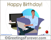 Ecard - Happy Birthday to a special someone