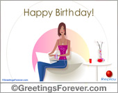 Greeting ecards: Happy Birthday to someone special