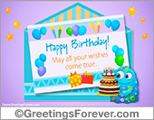 Greeting ecards: Happy birthday surprise ecard