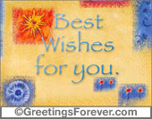 Best wishes birthday ecard