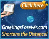 GreetingsForever.com Shortens the Distance.