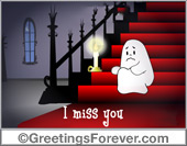 Ghost - Greeting ecards: Every night...