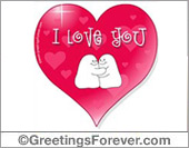 Ghost - Greeting ecards: Love