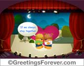 Ecard - Romantic theater ecard