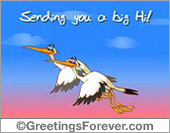 Sending you a big Hi!