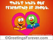 Greeting ecards: Sharing...