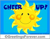 Greeting ecards: Cheer up ecards