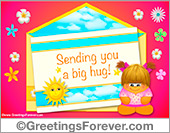 Ecard - Sending you a big hug!