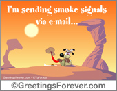 Greeting ecards: Im sending...