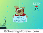 Merry Christmas e-card