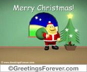 Santa Claus ecard