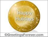 Ecard - Happy Holidays