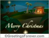 Traditional Season's greetings ecard