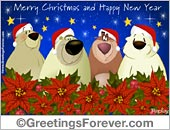 Greeting ecards: Merry Christmas ecard