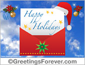 Greeting ecards: Season's Greetings ecards