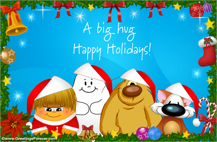 Ecard - Christmas egreeting