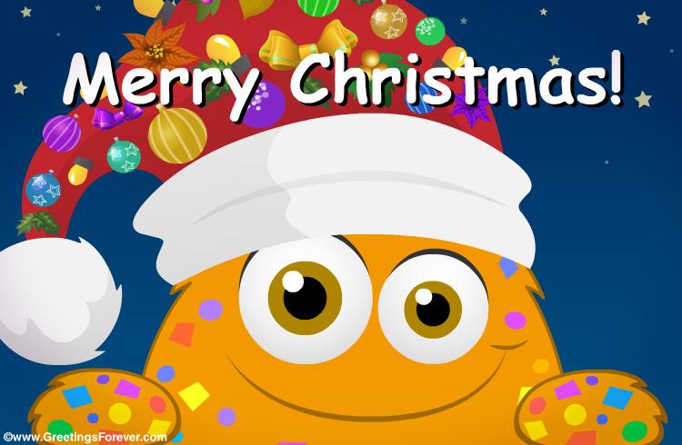 Ecard - Merry Christmas greeting card
