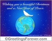Wishing a new year of peace