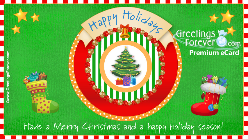 Ecard - Happy Holiday Season ecard