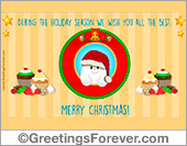 Ecards: Special Christmas greeting