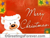 Christmas ecards ecard