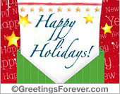 Happy Holidays ecard