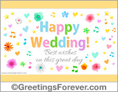 Ecards: Wedding ecards