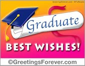Greeting ecards: Graduation