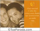 Cartões de amizade - Cartões postais: Amizade