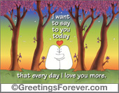 Ghost - Greeting ecards: I want to say...