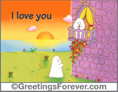 Ghost - Greeting ecards: Day after day...