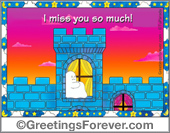 Ghost - Greeting ecards: For so many nights...