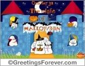 Halloween Castle ecard