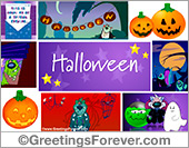 Ecards: Happy Halloween e-greeting