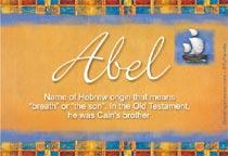 Name Abel