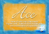 Name Ace