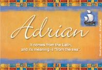 Name Adrian