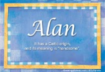 Name Alan