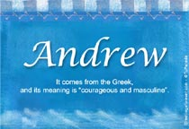 Name Andrew