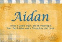 Name Aidan