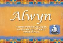 Name Alwyn