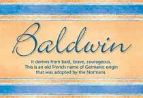 Name Baldwin