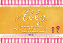 Name Abby