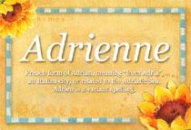 Name Adrienne