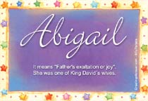 Name Abigail