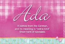 Name Ada