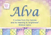 Name Alva